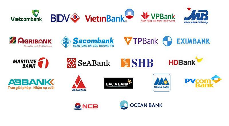 Nhận thanh toán ngân hàng Việt Nam