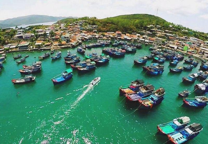 cảng tàu du lich nha trang mới Cửa Bé