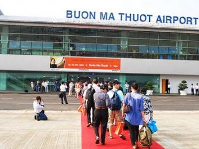 Cho thuê xe sân bay Buôn Ma Thuột Đăk Lăk