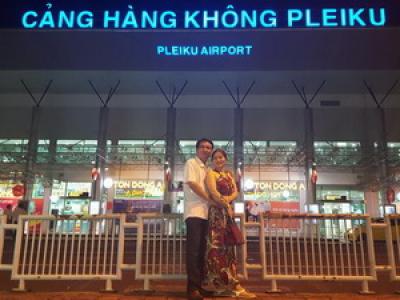 Cho thuê xe sân bay Pleiku Gia Lai