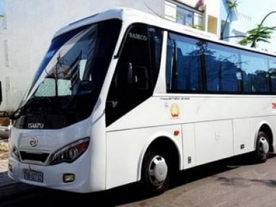 Cho thuê xe 29 chỗ Tuy Hòa Phú Yên