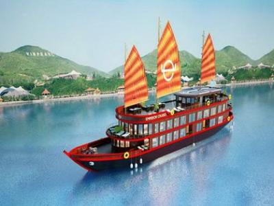 Tour du thuyền Emperor Cruises vịnh Nha Trang